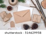 christmas background. holiday...   Shutterstock . vector #514629958