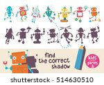 kids learning game. find the... | Shutterstock .eps vector #514630510