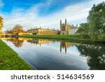 Kings College And Cam River...