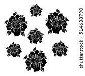 flowers.flowers set.flowers... | Shutterstock .eps vector #514638790