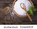 Large White Sea Salt In A...
