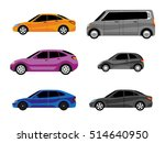 design of cars of different... | Shutterstock .eps vector #514640950