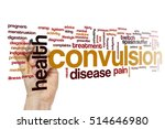 Small photo of Convulsion word cloud concept