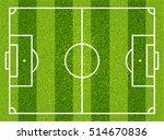 textured grass football  soccer ... | Shutterstock .eps vector #514670836