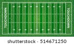 american football field ... | Shutterstock .eps vector #514671250