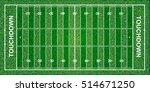 american football field ... | Shutterstock .eps vector #514671250