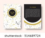 brochure template with place... | Shutterstock .eps vector #514689724