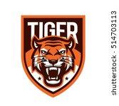 tiger vector | Shutterstock .eps vector #514703113
