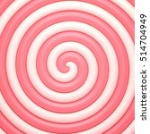 candy sweet spiral abstract... | Shutterstock .eps vector #514704949