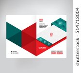 cover for catalogue  brochure ... | Shutterstock .eps vector #514713004