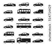 cars icons vector set | Shutterstock .eps vector #514714429