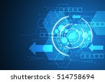 vector abstract background... | Shutterstock .eps vector #514758694
