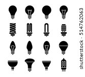 electricity lamp signs. light... | Shutterstock . vector #514762063