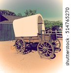 Wild West Cart In Vintage Tone