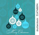 abstract new year background.... | Shutterstock .eps vector #514768894