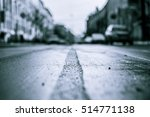 city streets late autumn  the... | Shutterstock . vector #514771138