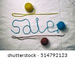 word sale written multicolored... | Shutterstock . vector #514792123