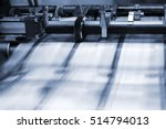printing process in a modern... | Shutterstock . vector #514794013
