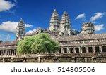 angkor wat temple  siem reap ... | Shutterstock . vector #514805506