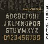 the original sans serif font... | Shutterstock .eps vector #514808533