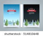 mary christmas cover art  happy ... | Shutterstock .eps vector #514810648