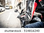 sport motorcycle driving in the ... | Shutterstock . vector #514816240