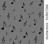 abstract music seamless pattern ...   Shutterstock .eps vector #514817266