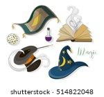 magic icon set   Shutterstock .eps vector #514822048