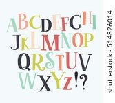 color vector serif english...