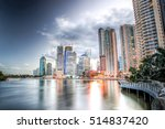 brisbane central business... | Shutterstock . vector #514837420