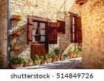 beautiful authentic cypriot... | Shutterstock . vector #514849726