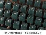 Dusty Keyboard Old Typewriter ...