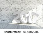 merry christmas and new year... | Shutterstock . vector #514889086