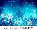 awesome winter texture dark...   Shutterstock . vector #514893070
