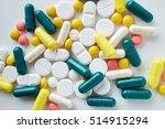 aluminium blister pack of pills.