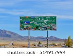 nevada  united states   october ... | Shutterstock . vector #514917994