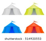 set of four color marquees... | Shutterstock .eps vector #514920553