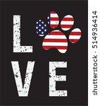 dog typography  tshirt design ... | Shutterstock .eps vector #514936414