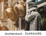 hats and accesories in a...   Shutterstock . vector #514941490