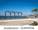 los arcos   puerto vallarta ... | Shutterstock . vector #514945936