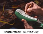 modelling design of a shoes | Shutterstock . vector #514955059