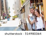 couple tourists riding the...   Shutterstock . vector #514980364