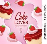 cake elements   vector... | Shutterstock .eps vector #514987093