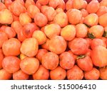 ripe hachiya persimmons tiled... | Shutterstock . vector #515006410