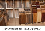 sample parquet boards in... | Shutterstock . vector #515014960