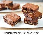 Brownie Stack  Closeup...