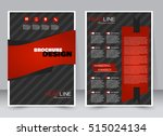 abstract flyer design... | Shutterstock .eps vector #515024134