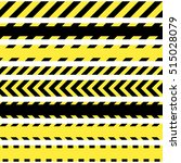 vector set of seamless tapes.... | Shutterstock .eps vector #515028079