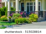 house entrance with nicely... | Shutterstock . vector #515028814