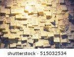 Blur Memo Post Note Paper...